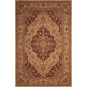 "Nourison Heritage Hall 5'6"" x 8'6"" Lacquer Rectangle Rug"