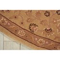 Nourison Heritage Hall 9' x 9' Lacquer Round Rug