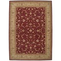 Nourison Heritage Hall 12' x 15' Lacquer Rectangle Rug - Item Number: HE04 LAC 12X15