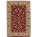 """Nourison Heritage Hall 2'6"""" x 4'2"""" Lacquer Rectangle Rug - Item Number: HE04 LAC 26X42"""