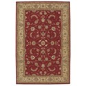 """Nourison Heritage Hall 5'6"""" x 8'6"""" Lacquer Rectangle Rug - Item Number: HE04 LAC 56X86"""