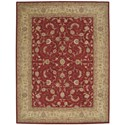"""Nourison Heritage Hall 8'6"""" x 11'6"""" Lacquer Rectangle Rug - Item Number: HE04 LAC 86X116"""