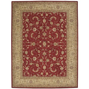 """Nourison Heritage Hall 9'9"""" x 13'9"""" Lacquer Rectangle Rug"""
