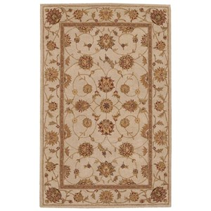 "Nourison Heritage Hall 3'9"" x 5'9"" Ivory Rectangle Rug"