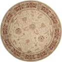 Nourison Heritage Hall 9' x 9' Mist Round Rug - Item Number: HE27 MST 9X9