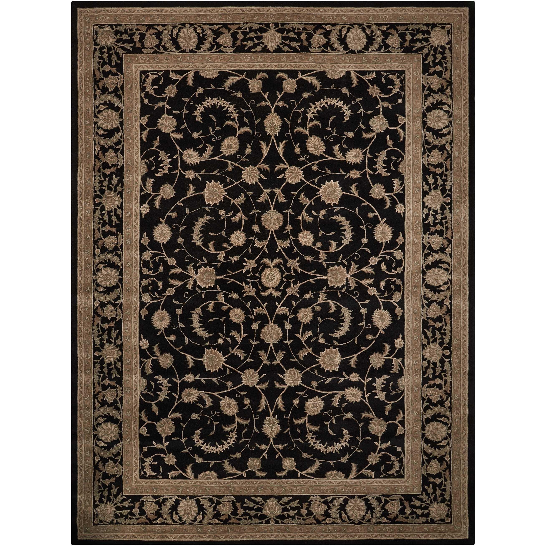 12' x 15' Black Rectangle Rug