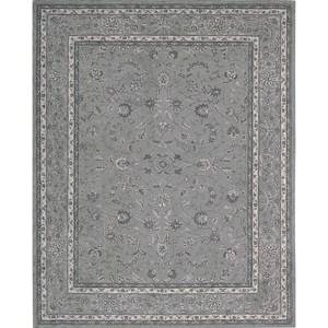 "Nourison Heritage Hall 3'9"" x 5'9"" Steel Rectangle Rug"