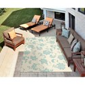 Nourison Home & Garden 10' x 13' Ivory Area Rug
