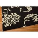 Nourison Home & Garden 10' x 13' Black Area Rug