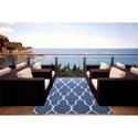 Nourison Home & Garden 10' x 13' Navy Area Rug