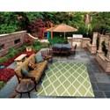 Nourison Home & Garden 10' x 13' Green Area Rug