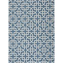 Nourison Home & Garden 10' x 13' Navy Area Rug - Item Number: 20801