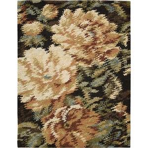 "Nourison Impressionist 5'6"" x 7'6"" Harvest Area Rug"