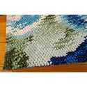Nourison Impressionist 4' x 6' Green Blue Area Rug