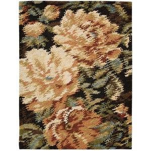 "Nourison Impressionist 5'6"" x 7'6"" Harvest Rectangle Rug"