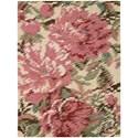 Nourison Impressionist 8' x 10' Pastel Rectangle Rug - Item Number: IMPR1 PASTL 8X10