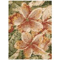 Nourison Impressionist 4' x 6' Spring Rectangle Rug - Item Number: IMPR1 SPRNG 4X6
