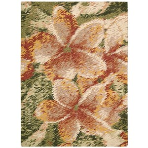 "Nourison Impressionist 5'6"" x 7'6"" Spring Rectangle Rug"