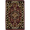 """Nourison India House 2'6"""" x 4' Rust Rectangle Rug - Item Number: IH02 RUS 26X4"""