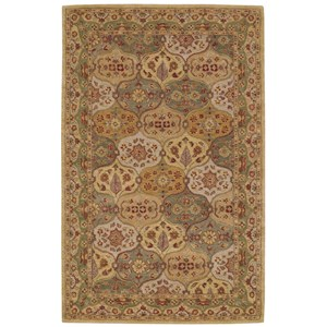 Nourison India House 5' x 8' Multicolor Rectangle Rug