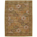"""Nourison India House 8' x 10'6"""" Multicolor Rectangle Rug - Item Number: IH03 MTC 8X106"""