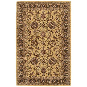 Nourison India House 5' x 8' Gold Rectangle Rug