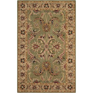 "Nourison India House 2'6"" x 4' Green Rectangle Rug"