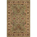 """Nourison India House 3'6"""" x 5'6"""" Green Rectangle Rug - Item Number: IH18 GRE 36X56"""