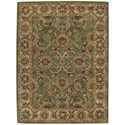 """Nourison India House 8' x 10'6"""" Green Rectangle Rug - Item Number: IH18 GRE 8X106"""
