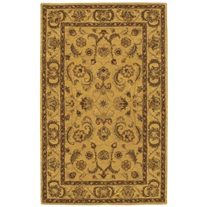 5' x 8' Gold Rectangle Rug