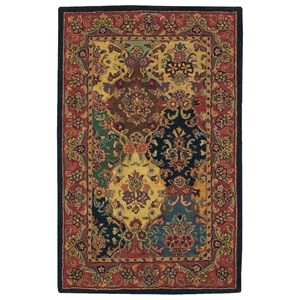 "Nourison India House 3'6"" x 5'6"" Multicolor Rectangle Rug"