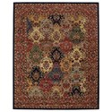 "Nourison India House 8' x 10'6"" Multicolor Rectangle Rug - Item Number: IH23 MTC 8X106"