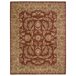 "Nourison India House 8' x 10'6"" Rust Rectangle Rug"