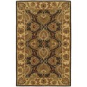 Nourison India House 5' x 8' Green Rectangle Rug - Item Number: IH59 GRE 5X8