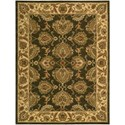 """Nourison India House 8' x 10'6"""" Green Rectangle Rug - Item Number: IH59 GRE 8X106"""