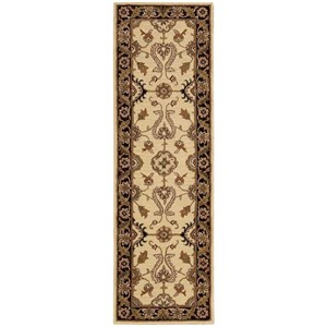 "Nourison India House 2'3"" x 7'6"" Beige Runner Rug"
