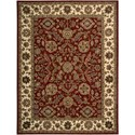 "Nourison India House 8' x 10'6"" Brick Rectangle Rug - Item Number: IH61 BRK 8X106"