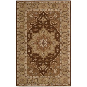 Nourison India House 2' x 3' Chocolate Rectangle Rug