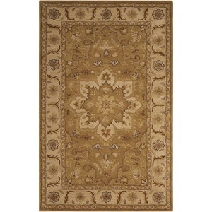 "Nourison India House 8' x 10'6"" Olive Rectangle Rug"