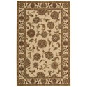 Nourison India House 5' x 8' Ivory Rectangle Rug - Item Number: IH73 IV 5X8