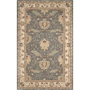 Nourison India House 5' x 8' Blue Rectangle Rug
