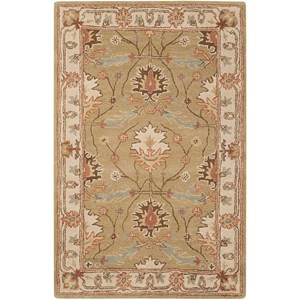 "Nourison India House 3'6"" x 5'6"" Sage Rectangle Rug"