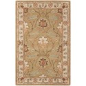 "Nourison India House 8' x 10'6"" Sage Rectangle Rug - Item Number: IH76 SAG 8X106"