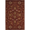 Nourison India House 5' x 8' Brick Rectangle Rug - Item Number: IH83 BRK 5X8