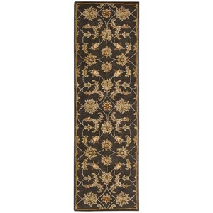 "Nourison India House 2'3"" x 7'6"" Charcoal Runner Rug"