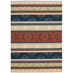 5' x 8' Multicolor Rectangle Rug