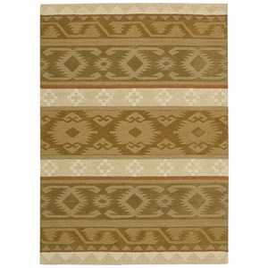 "Nourison India House 3'6"" x 5'6"" Camel Rectangle Rug"