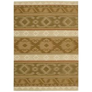 5' x 8' Camel Rectangle Rug