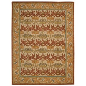 "Nourison India House 8' x 10'6"" Beige Rectangle Rug"