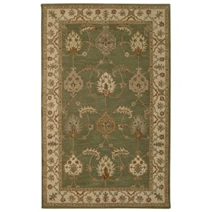 Nourison India House 5' x 8' Kiwi Rectangle Rug